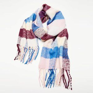 URBAN OUTFITTERS Check Plaid Blanket Scarf NWT